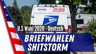 Briefwahlen - Shitstorm US-Wahl 2020