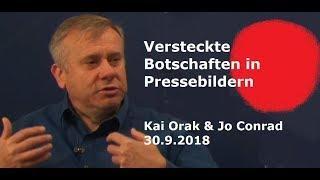 Versteckte Botschaften in Presse-Fotos - Kai aus Hannover | 30.9.2018
