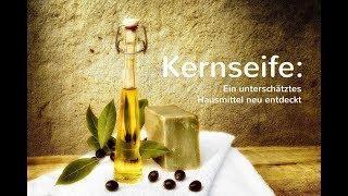 Echte Olivenöl-Kernseife, DIE angenehme basische Hautpflege, welche die Haut entgiftet (PH 9,5)