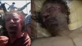 Gaddafis Todesumstände unklar (Vorsicht, grausame Bilder!)