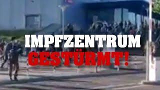 MENSCHEN stürmen IMPFZENTRUM!