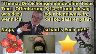 """""""Jakob Tscharntkes Predigt vom 25.07.2021: Die Scheingemeinde ohne Jesus!!!"""""""