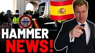 Spanien: Einschränkungen für Ungeimpfte aufgehoben! (Hammer-Urteil)