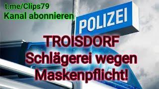 Troisdorf - Schlägerei mit der Polizei im Kaufland wegen Maskenpflicht