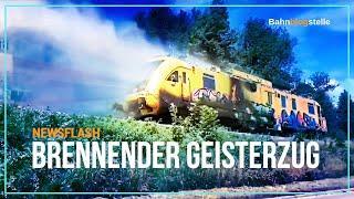 Brennender Triebwagen fährt führerlos durchs Kinzigtal | Bahnblogstelle [NEWSFLASH]