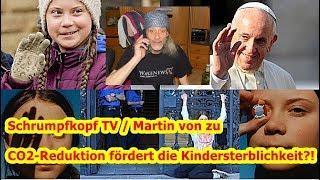 Trailer: Schrumpfkopf TV / Martin von zu CO2-Reduktion fördert die Kindersterblichkeit?!