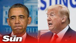 President Trump scolds reporter on 'Obamagate' - You know what the crime is