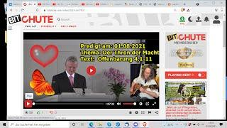 """""""Predigt am: 01.08.2021, Thema: Der Thron der Macht:  Offenbarung 4,1-11 mit Jakob Tscharntke!!!""""..."""