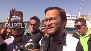 Italy: MSF ship carrying 1,444 migrants & refugees docks at port of Naples