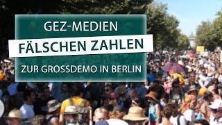 GEZ-Medien fälschen Zahlen zur Großdemo in Berlin | 09.08.2020 | www.kla.tv/16991