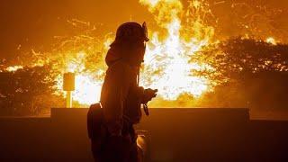 Kalifornien: Brände im Süden - Kein Strom im Norden 11.10.2019