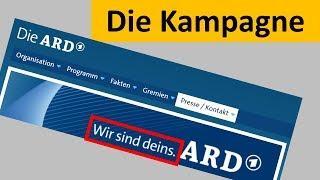"""Die unsägliche ARD-Kampagne : """"WIR SIND DEINS"""""""