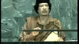 Rede von Muammar Al Gaddafi bei der Generalversammlung der UNO - 2009 (synchronisiert)
