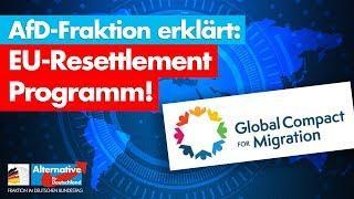 CSU stimmt EU-Resettlement Programm zu! - AfD-Fraktion im Bundestag
