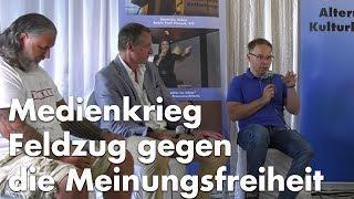 """Dr. Blex  trifft YouTube-Patrioten - """"Medienkrieg"""""""
