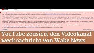 Schrumpfkopf TV / wakenews radio/tv auf youtube zensiert ...