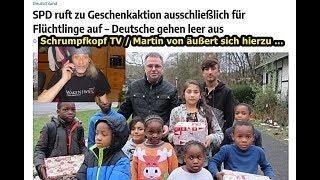 Trailer: Schrumpfkopf TV / Martin von zur Geschenkaktion ausschließlich für Flüchtlinge (SPD) ...