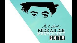 Charlie Chaplin  - Rede an die Menschheit 2018