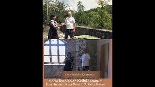 Viola Bendzko - Reflektionen - Kunst in und mit der Natur in St. Certa, Italien