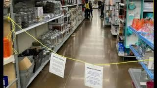 Big Box Stores Are Now Closing Off Isles of Non-Essential Goods Like SEEDS and Clothes