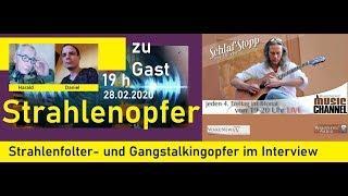 Daniel und Harald — 2 Strahlenfolter- und Gangstalkingopfer - Schlaf-Stopp Wake News Music Channel