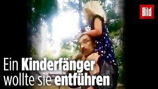 Kioskbesitzer befreit kleines Mädchen aus den Händen eines Kinderfängers
