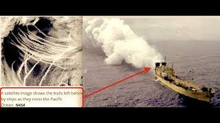 Aquatrails - New Chemtrails - Spraying Reflective Particulates Over Oceans