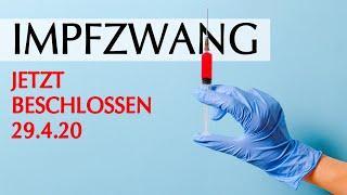 Impfzwang von Bundeskabinett beschlossen OFFIZIELLE QUELLE