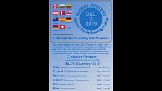 GLOBAL PROTEST - Against Family Splitting Policies ---- KESV für eine familienfreundliche Politik
