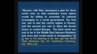 Masterplan: Alle 3 Weltkriege wurden vor Langer Zeit geplant!