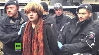 Hambacher Forst: Polizei holt einen Aktivisten nach dem anderen von den Bäumen