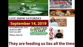 They are feeding us lies all the time - UNITEDWESTART Roundtable Discussion September 14, 2019