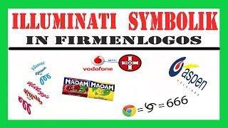 Illuminati Symbolik in Firmenlogos, interessant was man in einigen Logos erkennen kann...