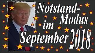 Notstandserklärung für  September 2018