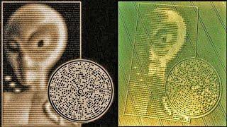 Possible Message of extraterrestrial To the people of the Earth in Crabwood crop circle 2002