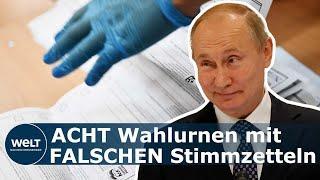 Deutscher Bericht über Russlands Wahlergebnis
