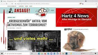 """""""Krebsgeschwür Antifa: Vom Aktivismus zum Terrorismus?, usw.!!!"""" ..."""