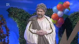 Fastnacht in Franken 2012: Peter Kuhn als Göttervater Zeus