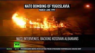 20th anniversary of  NATO's 'humanitarian' bombing campaign in Yugoslavia