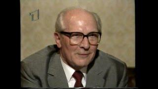 Erich Honecker - ARD-Interview 1991 Moskau (43 Min.)