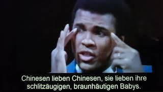 Muhammad Ali über Multikulti. Multikulti dient in Wahrheit nur dem Völkermord multi und der Rest von