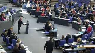CDU/CSU,FDP,SPD und Grüne bekommen von Gregor Gysi einen vor den Latz.Die Linke redet Tacheless