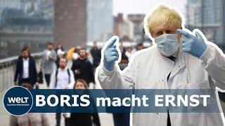 NWO - CORONA-MAßNAHMEN WERDEN VERSCHÄRFT: So schränkt Boris Johnson das Leben der Briten wieder ein