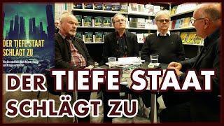 """""""Der Tiefe Staat schlägt zu"""". Ullrich Mies, Hannes Hofbauer, Jochen Scholz auf der Buchmesse Leipzig"""