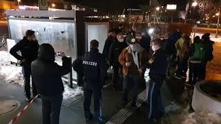Klare Worte von Polizei-Kommissar a.D. Karl Hilz am 22. Januar 2021