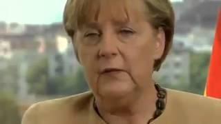 Angela Merkel: Deutsche müssen Gewalt der Ausländer akzeptieren