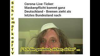 """Trailer: Schrumpfkopf TV / """"Endlich Maskenpflicht — Gott sei Dank und ich bin sicher"""" ..."""