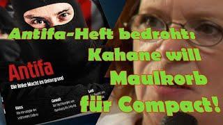 Antifa-Heft: Kahane will Maulkorb für Compact!