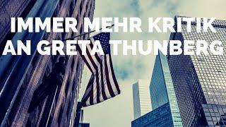 Immer mehr Kritik an Greta Thunberg