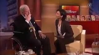 Helmut Schmidt 'Statement zur Zuwanderung/Fachkräftemangel. ..